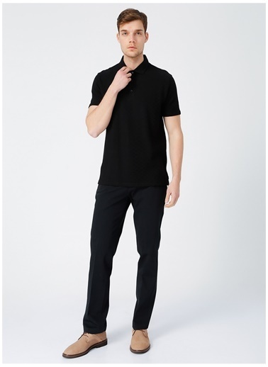 Fabrika Comfort Fabrika Comfort Erkek Siyah Polo T-Shirt Siyah